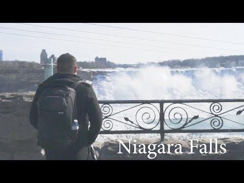 VLog004 - Fall Incline Plaza at Niagara Falls, Canada Highlights