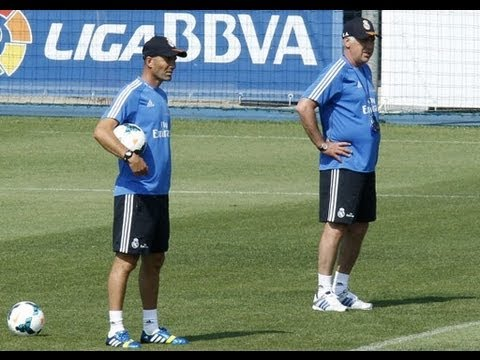 Zidane And Ancelotti Show