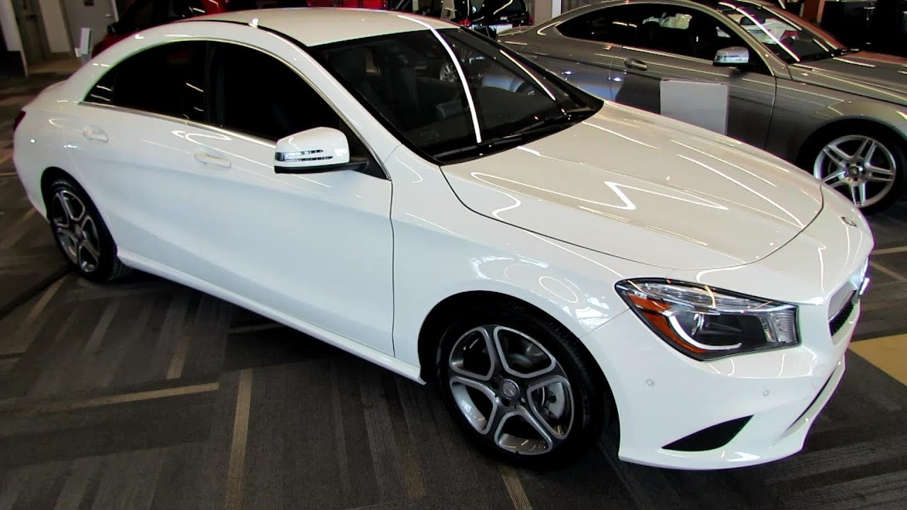 2014 mercedes benz cla class cla250 exterior interior for 2014 mercedes benz cla class cla250