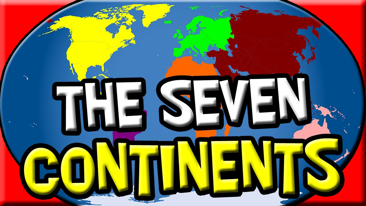 The Continents for Kids | 7 Continents | Earth Science Kids | Kids ...