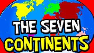 Die Kontinente für Kinder   7 Kontinente   Earth Science Kids   Kinder Geographie   Sieben Kontinente