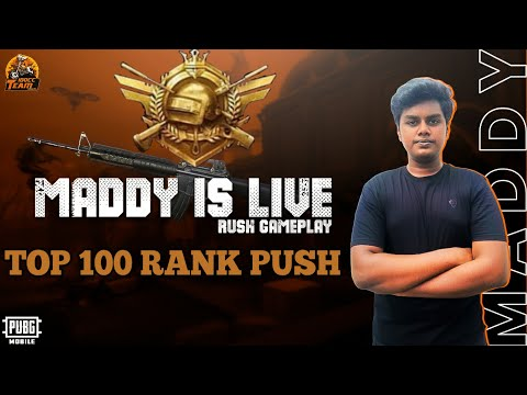 conqueror-maddy-bolte-🔥-pushing-to-top-100-rank-|-road-to-30k-subs❤️