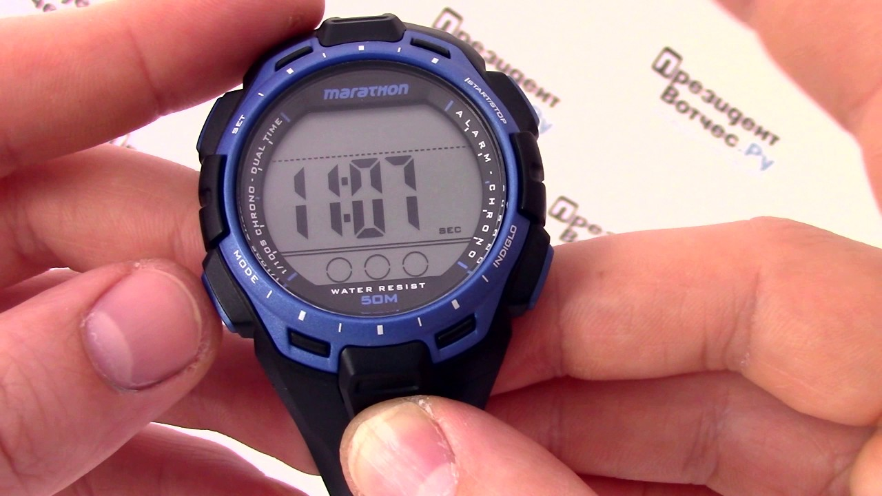 Men's Timex Indiglo Easy Reader Watch (T2H281) - YouTube