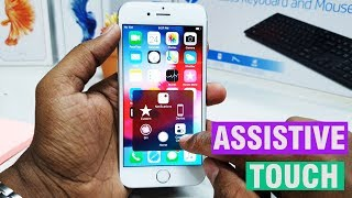 iPhone 6s: How T๐ Enable Touch Screen Home Button on iPhone (Assistive Touch)