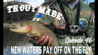 Trout Fishing New Waters | Yucaipa Regional Park Fly Fishing February