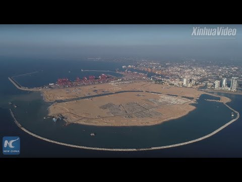 A City Born From Ocean! China-built Colombo Port City Completes Land Reclamation