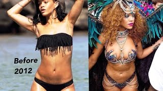 Why did Rihanna gain weight this year?? 2015