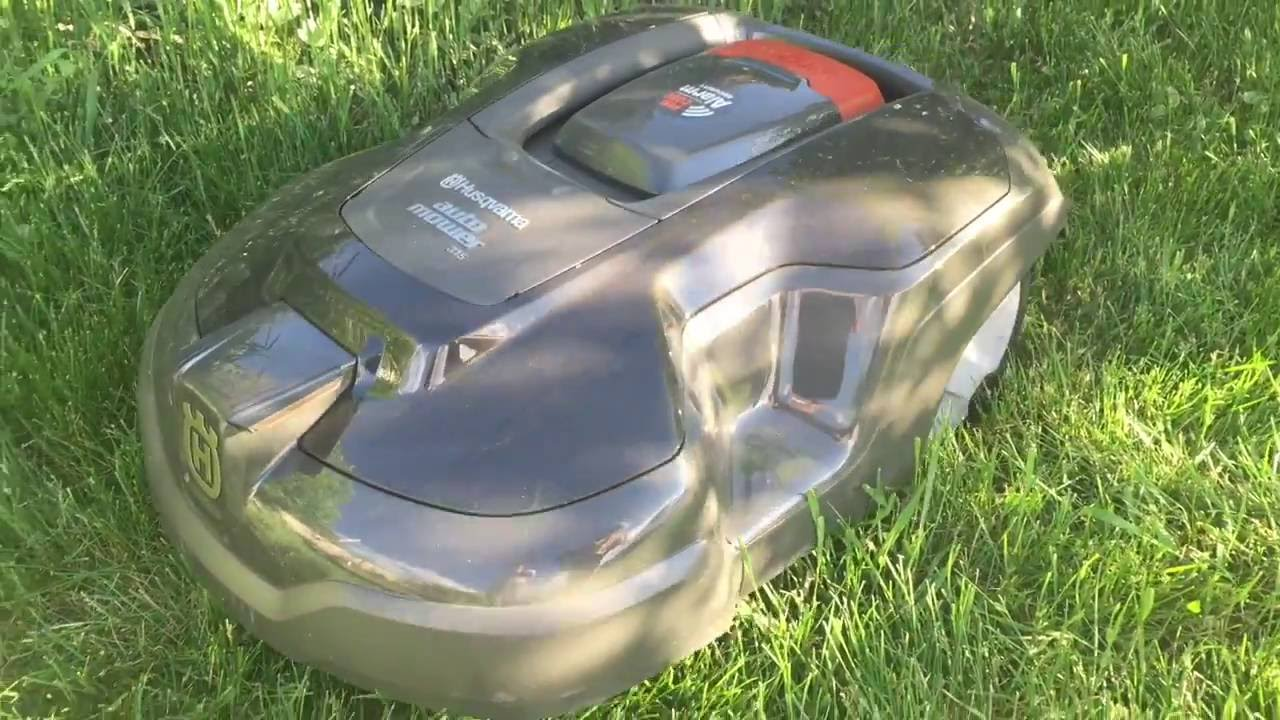 Husqvarna Automower Robot Lawn Mower Review Youtube