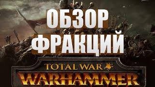 Total War: WARHAMMER - Кем играть? Краткий обзор фракций (рас)