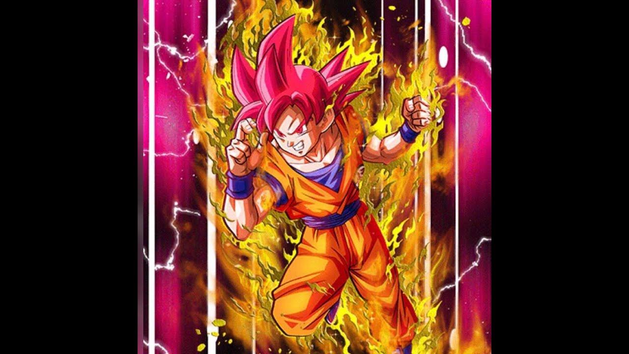 Nuking With AGL Super Saiyan God Goku Attack Level 10 DBZ Dokkan Battle