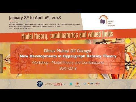 New Developments in Hypergraph Ramsey Theory - D. Mubayi - Workshop 1 - CEB T1 2018