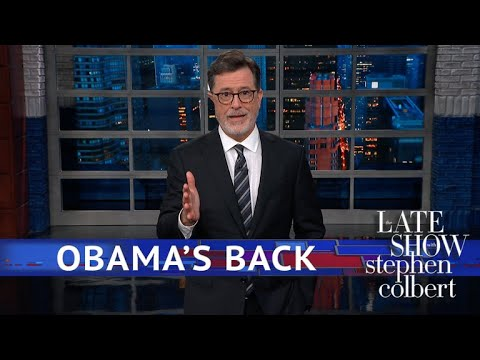 Obama Speaks Out, 'Plaid Shirt Guy' Silently Trolls Trump