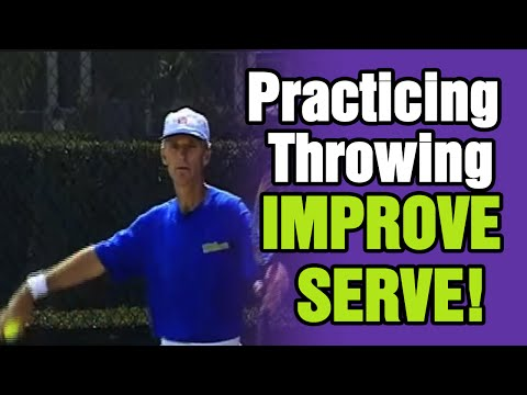 Tennis - Improve Your Serve By Practicing Throwing  | Tom Avery Tennis 239.592.5920