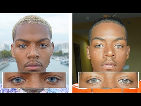 The Best Color Contacts For Dark Brown Eyes + Discount Code | Tarek Ali