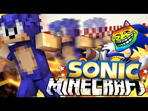 Minecraft mody! ZOSTAŃ SONICIEM :O! | SONIC MOD