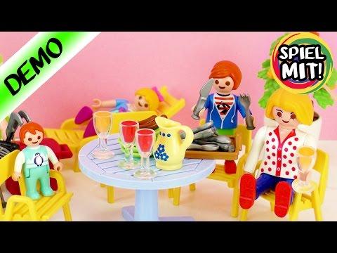Playmobil deutsch | NEUE GARTENMÖBEL für FAMILIE VOGEL | Demo Spiel mit mir Kinderspielzeug