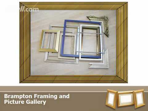 Picture Framers & Frame Makers - Brampton Framing & Picture Gallery
