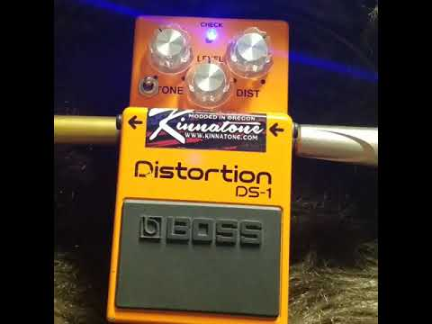 Kinnatone Boss DS1 Beyond Ultra mod sample