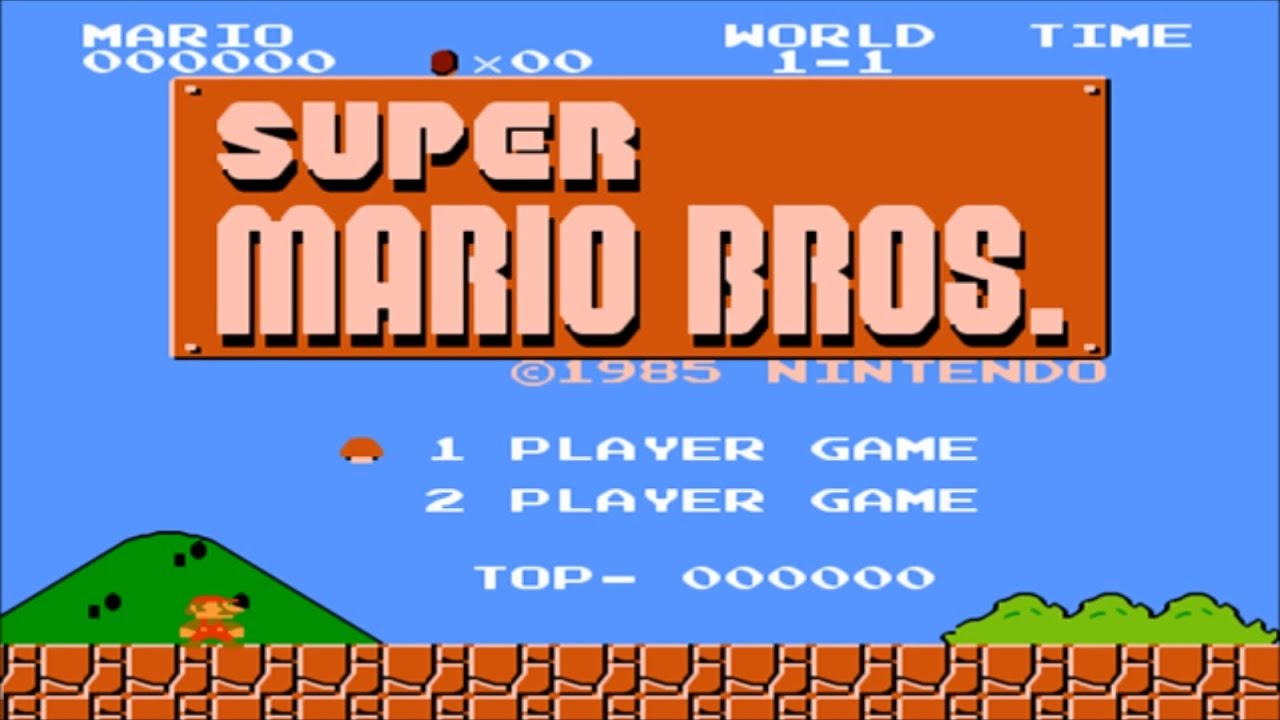 Super Mario Bros 1985 Full Walkthrough Nes Gameplay Nostalgia