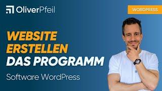 Website erstellen - das Programm (Software WordPress)