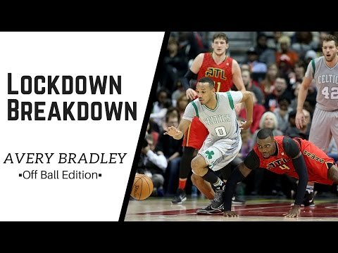 Avery Bradley Defense Off Ball - Lockdown Breakdown