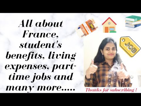 Why study in France ? | Internship in France | living expense, part-time jobs in France (In Hindi)