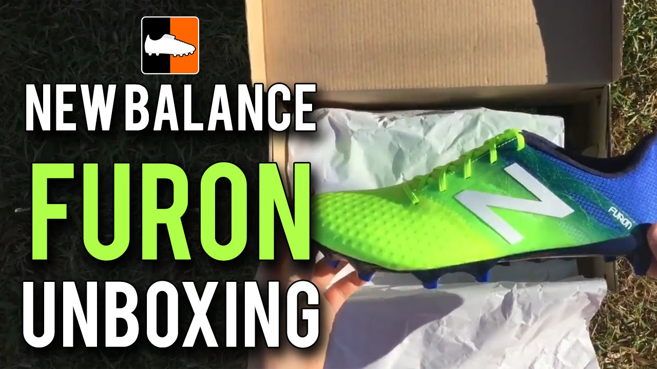 13d19c858 New Balance Furon Pro Unboxing | Toxic/Pacific/Abyss Football Boots ...