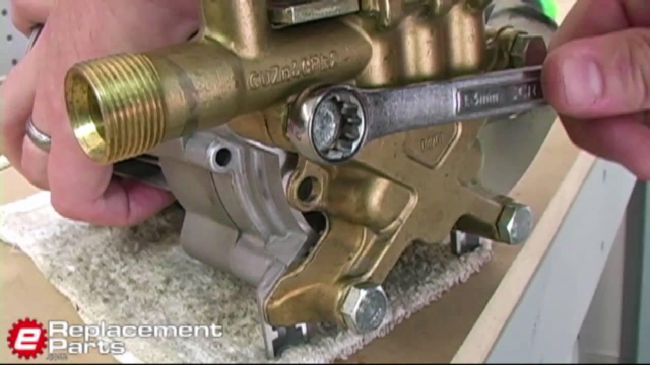 Karcher Power Washer Pump Rebuild