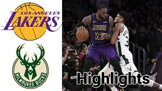 Lakers vs Bucks HIGHLIGHTS Full Game | NBA January 21