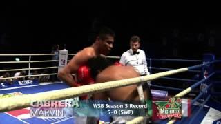 Boxer Profiles - Marvin CABRERA - Mexico Guerreros