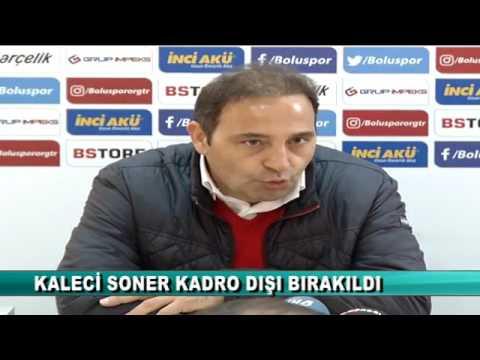 """SONER ŞAHİN KADRO DIŞI"" (19.03.2017 - BOLU)"