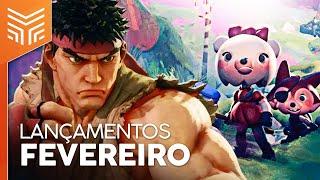 LANÇAMENTOS DE GAMES FEVEREIRO/2020: DREAMS, STREET FIGHTER V E MAIS (PS4, XBOX ONE, SWITCH E PC)