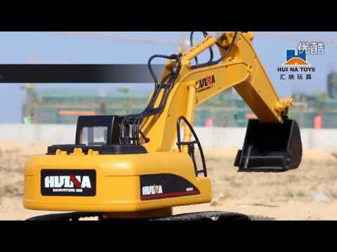 Excavator Toy Model Construction Vehicles Toy 2.4Ghz Radio Remote Control Electric Toy Excavator