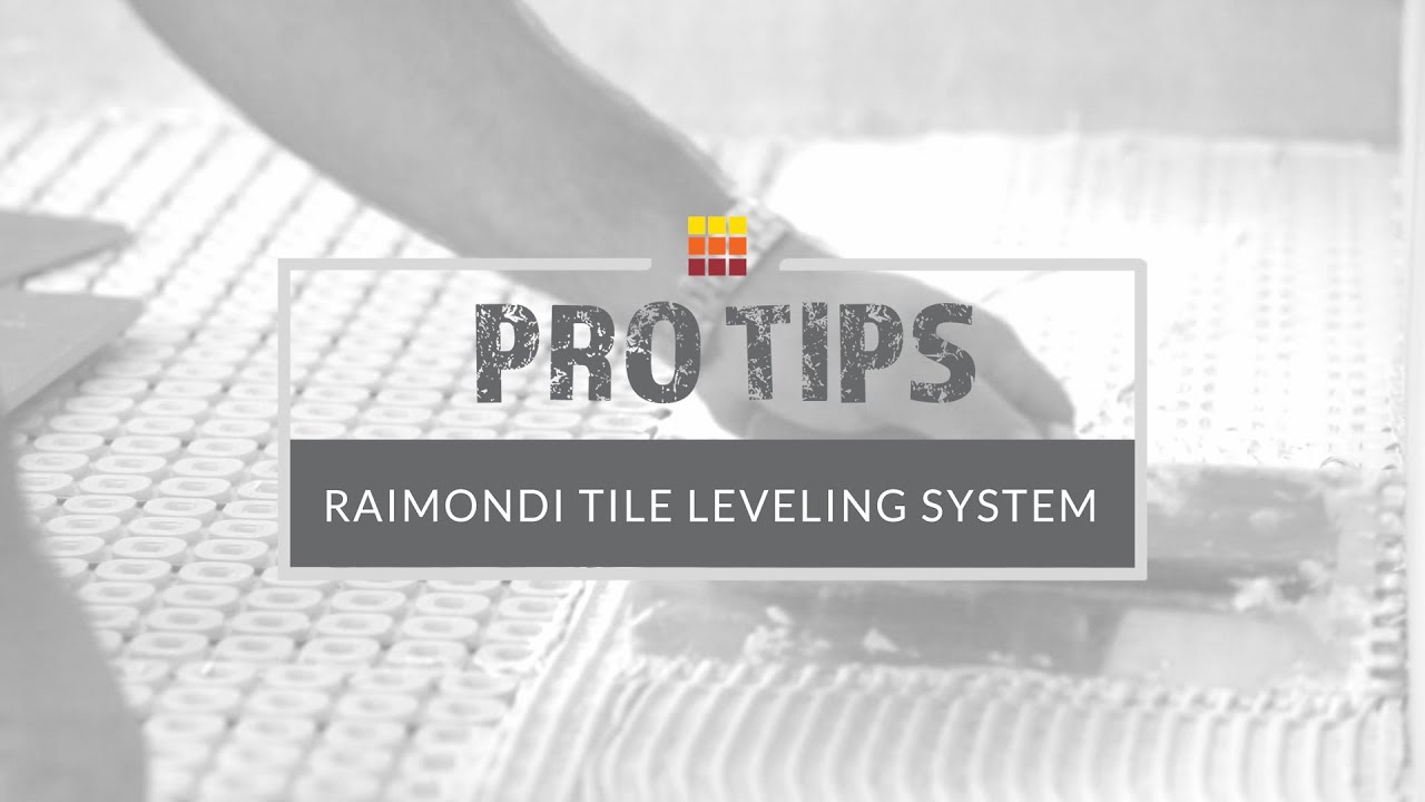 how to lay large format floor tile using tile leveling clips