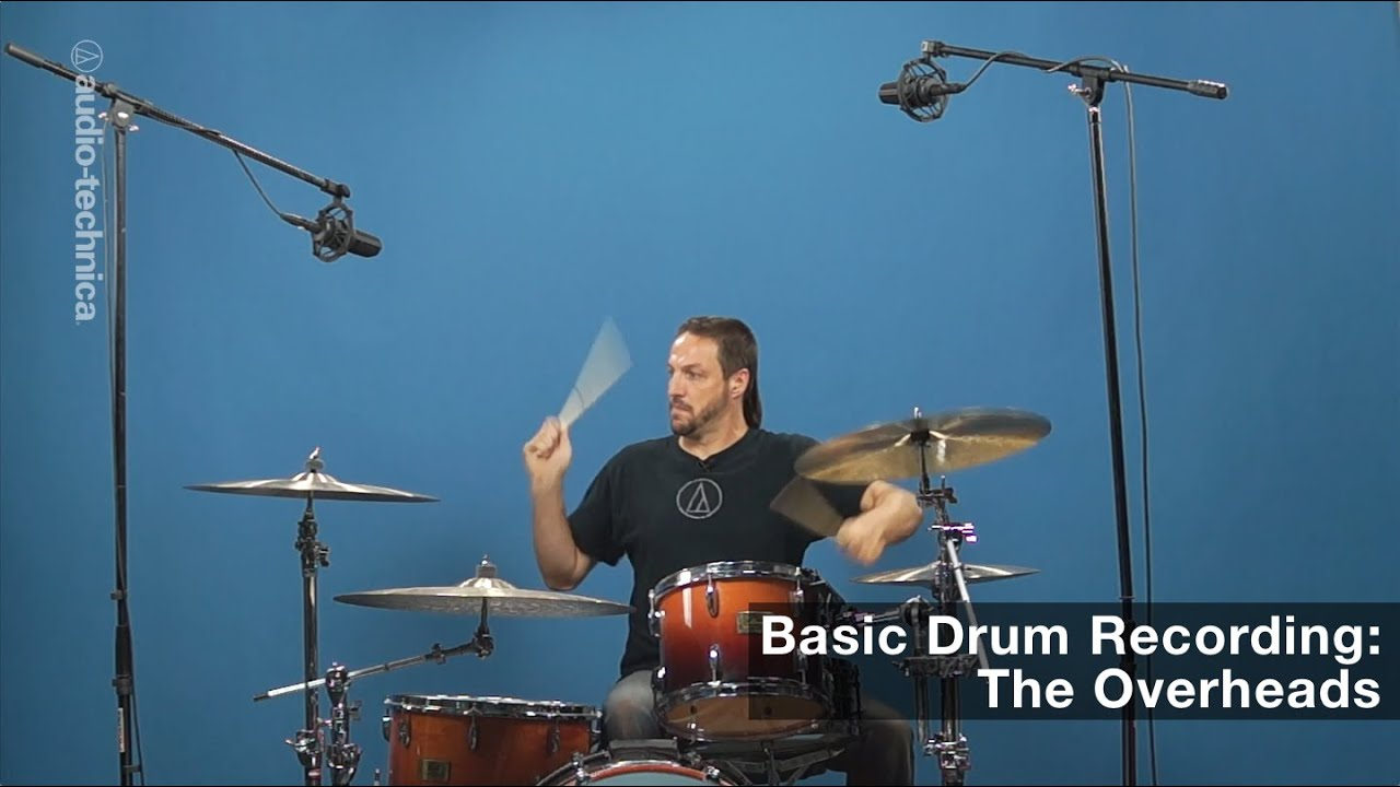 basic drum miking the overheads youtube. Black Bedroom Furniture Sets. Home Design Ideas