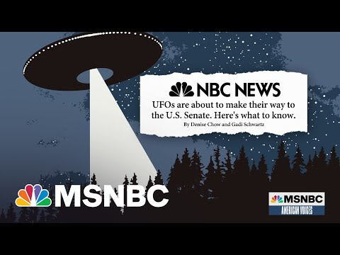U.S. Intel Report On UFOs Headed To Congress | Alicia Menendez | MSNBC