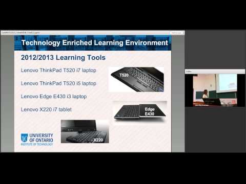 Standard technology for all students: UOIT's TELE Laptop/Tablet Program