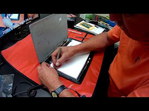 Lenovo Yoga 3 13 Pro Screen Assembly Replacement Procedure