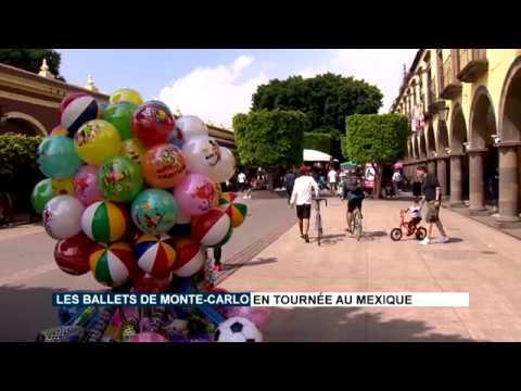 Les Ballets de Monte-Carlo en tournée au Mexique