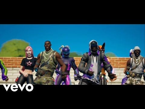 Dababy - Rockstar   Ft. Roddy Rich (Official Fortnite Music Video) *New Pull Up Emote*