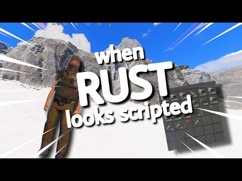 When rust looks scripted.
