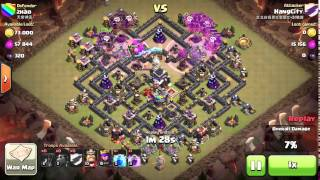 Intro to the trending TH9 Three Star Strategy  Lava Loons