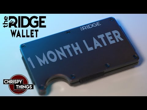 The Ridge Wallet: Is this the BEST wallet you can buy?