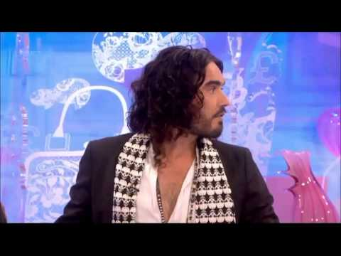 Russell Brand Interview on Loose Women 5 3 13