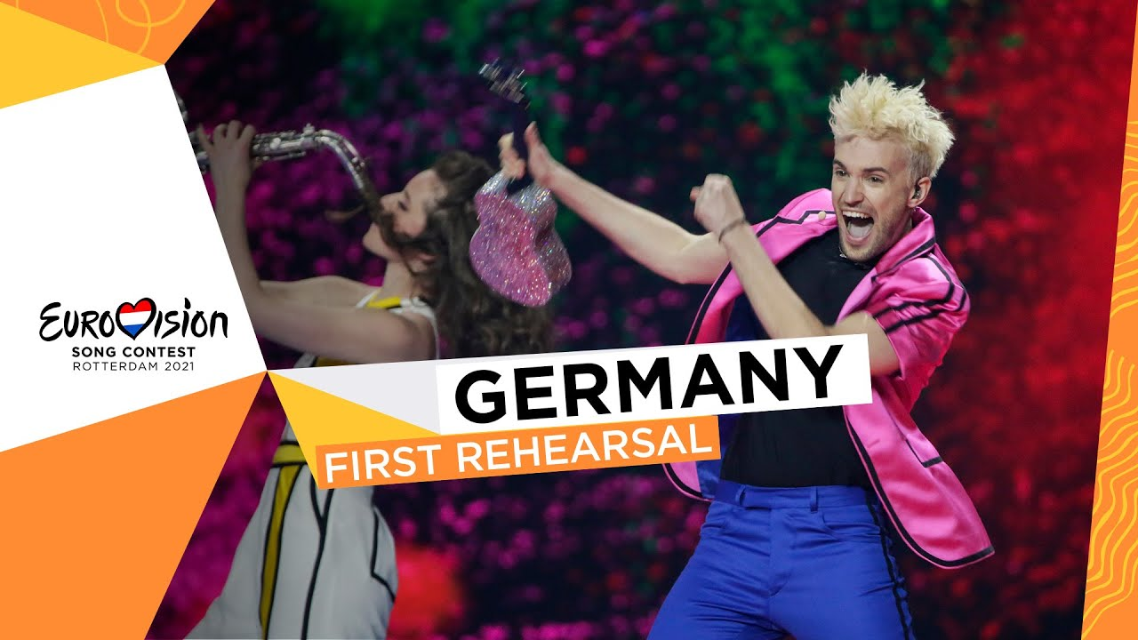 Jendrik - I Don't Feel Hate - First Rehearsal - Germany 🇩🇪 - Eurovision 2021