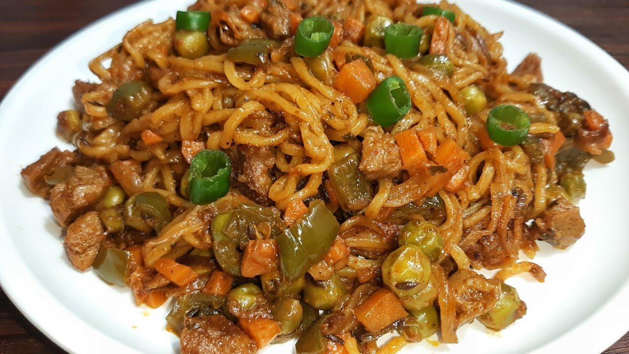 मैगी की इस नई रेसिपी को देखते ही बनाने का मन होगा |  Noodles recipe | Noodles ki Indian recipe |
