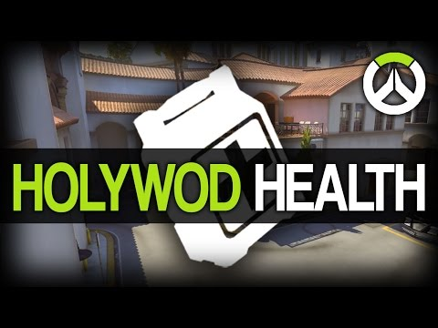 Overwatch - Hollywood Map Health Pack/Potion Locations