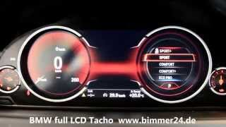 BMW F01 F10 F13 F15 FULL LCD KOMBI Tacho 6WB Black Panel Technologie