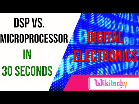 DSP vs Microprocessor | digital electronics interview questions and answers | wikitechy.com