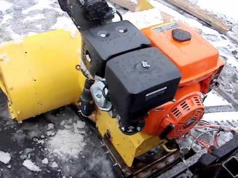 ATV Homemade Snowblower, Lifan 15 hp - YouTube